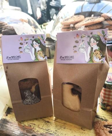 Paquet biscuit sablés et financiers